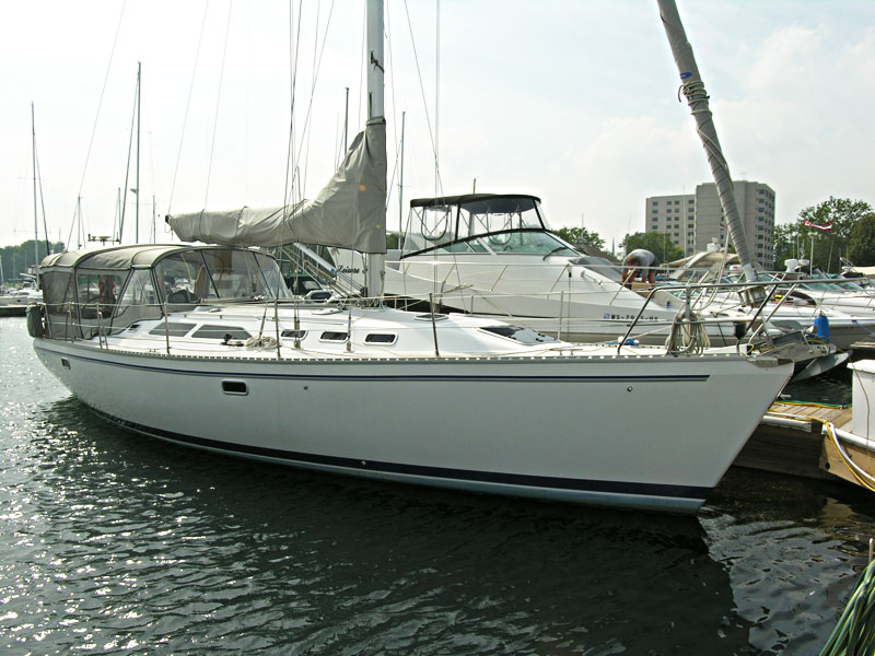 Catalina 400 for sale by Jan Guthrie Yacht Brokerage