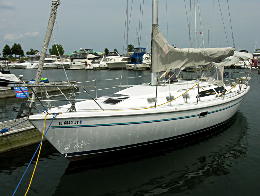 1997 Catalina 34 Mark II Tall Rig