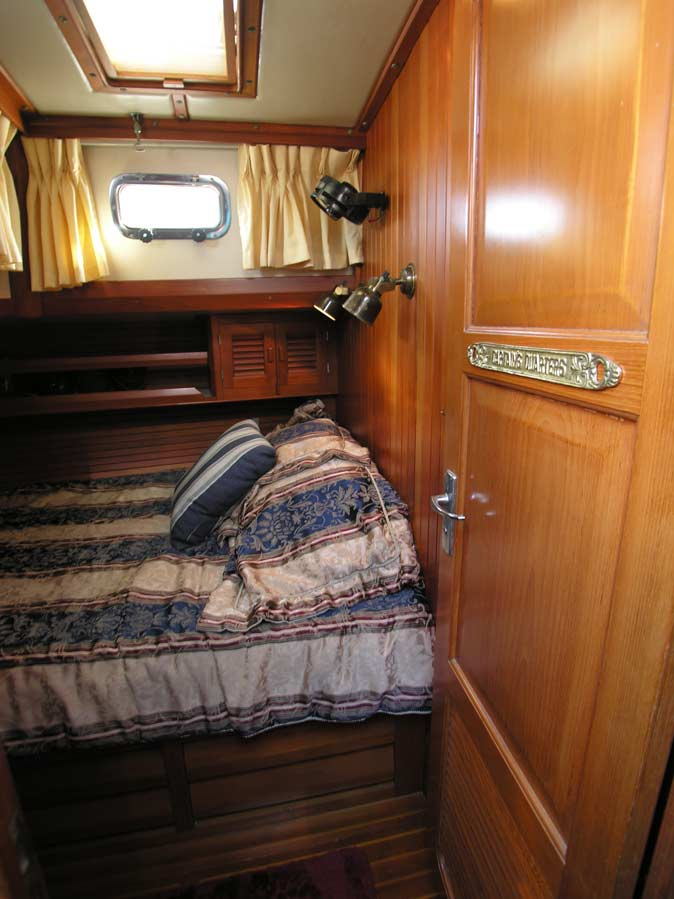 Slocum 43 used cruising sailboat aft stateroom
