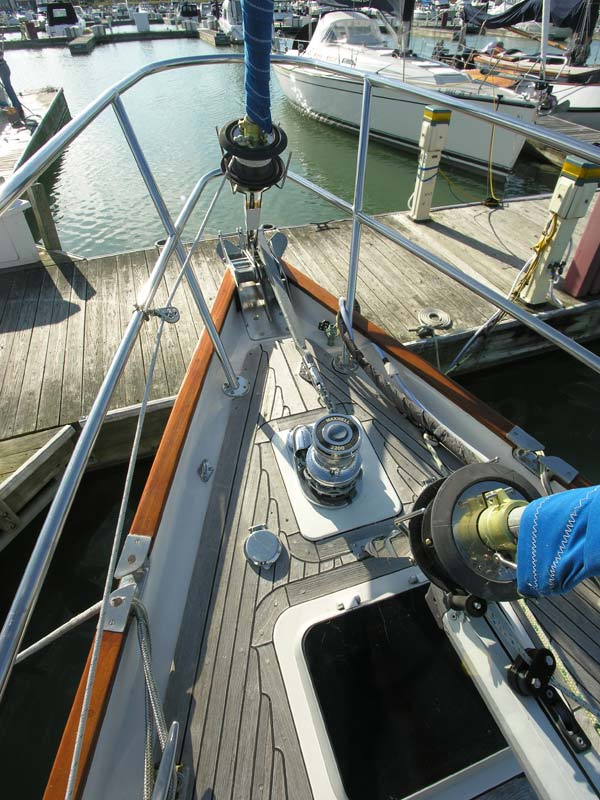 Bow with Windlass