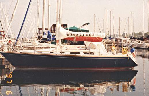 1987 Sabre 36 for Sale by Jan Guthrie Yacht Brokerage