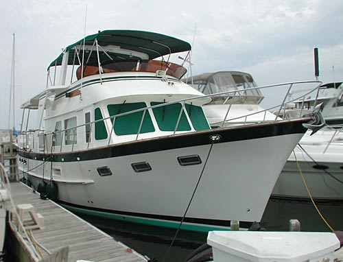 1999 Defever 44 Trawler by Wellcraft for Sale by Jan Guthrie