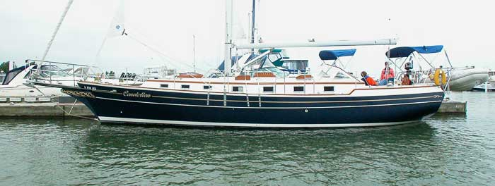 Gozzard 44 By North Castle Marine For Sale By Jan Guthrie Yacht Brokerage